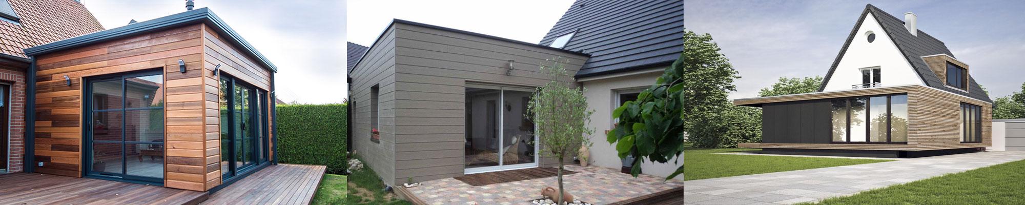 Extension Agrandissement ossature bois La Baule Guérande Pornichet