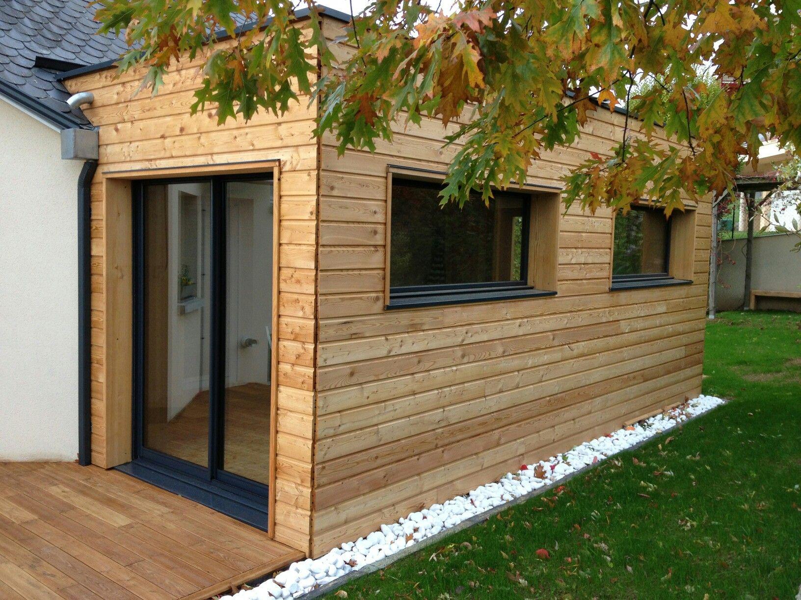 Extension ossature bois Guérande La Baule Pornichet Saint Nazaire